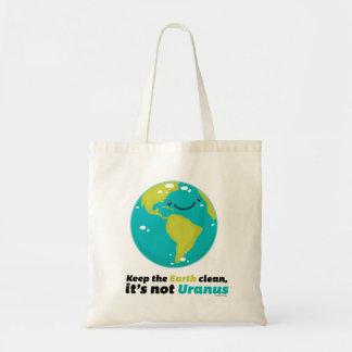 Håll jorden ren tygkasse