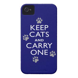 Håll katter Case-Mate iPhone 4 skal