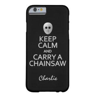 Håll lugn & bär cases för ett barely there iPhone 6 fodral