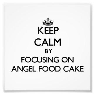 Håll lugn genom att fokusera på ängelmattårtan