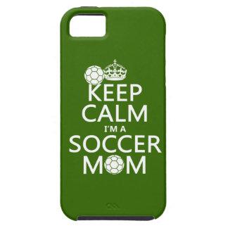 Håll lugn mig förmiddagen en fotbollmamma (i någon iPhone 5 skal
