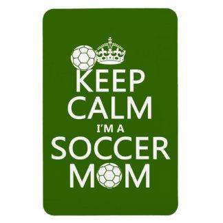 Håll lugn mig förmiddagen en fotbollmamma (i någon flexibla magneter