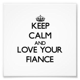 Håll lugn och älska din Fiance