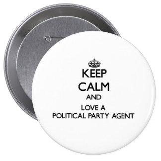 Håll lugn och älska en politiskt partiagent