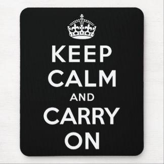 Håll lugn och bär på musmatta