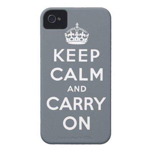 håll lugn och bär på original iPhone 4 skal