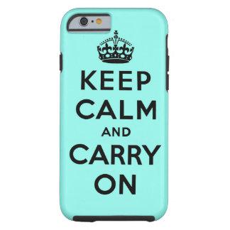 håll lugn och bär på original tough iPhone 6 skal