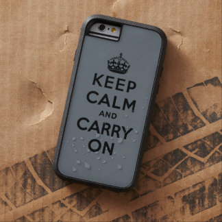håll lugn och bär på original tough xtreme iPhone 6 fodral