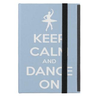 Håll lugn och dansa på Light - blått iPad Mini Skydd