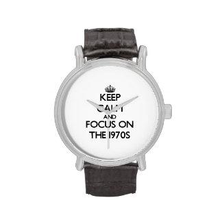Håll lugn och fokusera på 70-tal