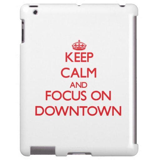 Håll lugn och fokusera på centra