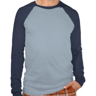 Håll lugn och fokusera på centra tee shirt