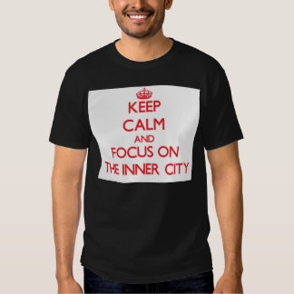 Håll lugn och fokusera på centra tee