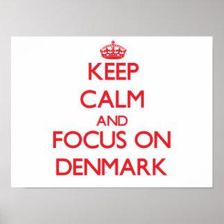 Håll lugn och fokusera på Danmark