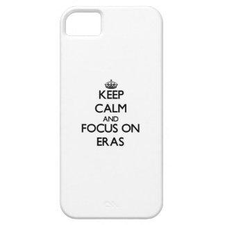 Håll lugn och fokusera på ERAS iPhone 5 Cover