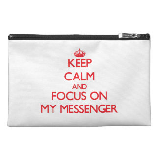 Håll lugn och fokusera på min budbärare