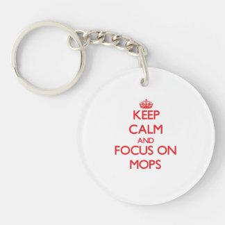 Håll lugn och fokusera på Mops