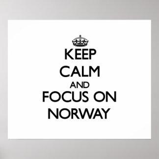 Håll lugn och fokusera på norge