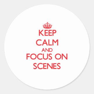 Håll lugn och fokusera på platser