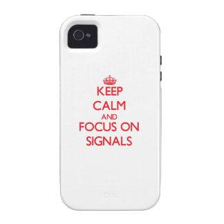 Håll lugn och fokusera på Signals