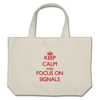 Håll lugn och fokusera på Signals Kasse
