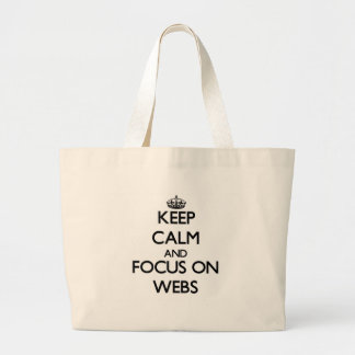 Håll lugn och fokusera på webs kasse