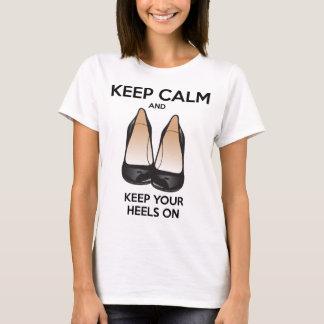 Håll lugn och håll på dina häl tröja