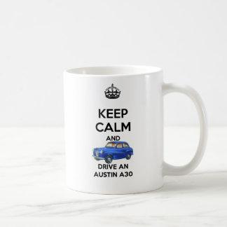 Håll lugn och kör en Austin A30 mugg