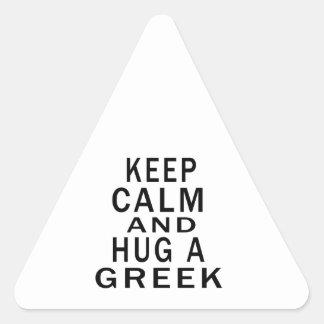 Håll lugn och krama en grek