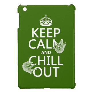 Håll lugn och kyla ut (slothen) (någon färg) iPad mini mobil skydd