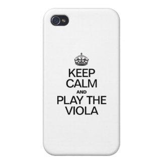 HÅLL LUGN OCH LEKA VIOLAEN iPhone 4 CASES