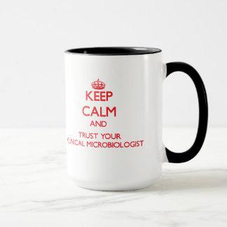 Håll lugn och lita på din kliniska Microbiologist