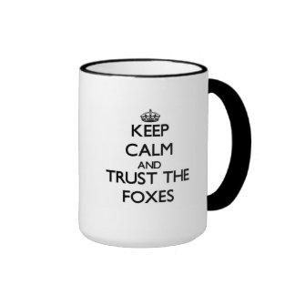 Håll lugn och lita på rävarna