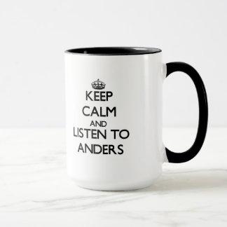 Håll lugn och lyssna till Anders Mugg