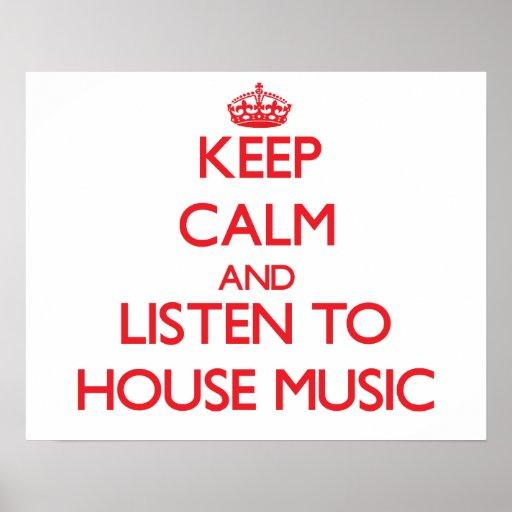 Håll lugn och lyssna till HUSMUSIK
