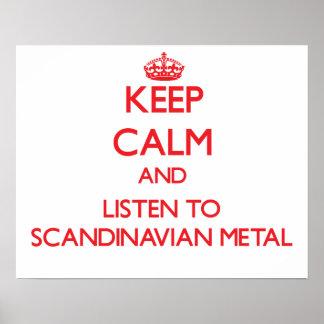 Håll lugn och lyssna till SKANDINAVISK METALL