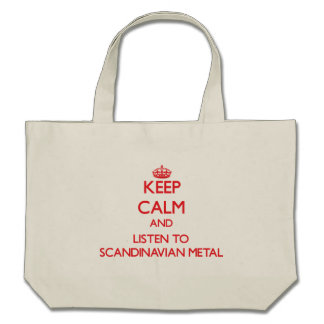 Håll lugn och lyssna till SKANDINAVISK METALL Kasse