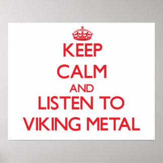 Håll lugn och lyssna till VIKING METALL