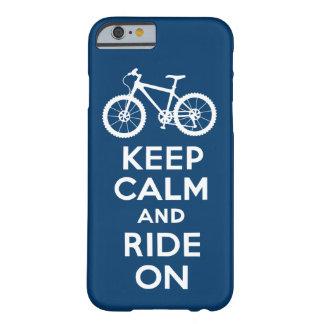 Håll lugn och rida på fodral för mariniPhone 6 Barely There iPhone 6 Skal