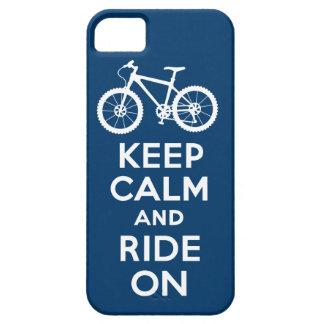 Håll lugn och rida på mariniPhone 5 iPhone 5 Skydd