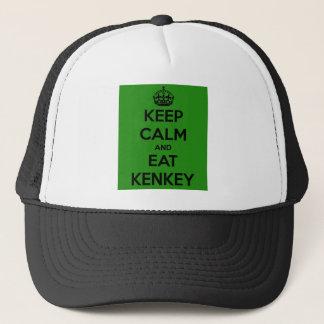 håll lugnat och äta kenkeyen truckerkeps
