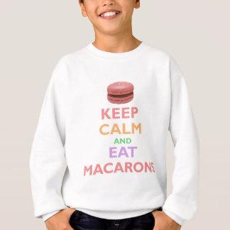 Håll lugnat och äta Macarons Tröjor