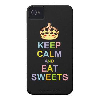 Håll lugnat och äta sötsaker iPhone 4 Case-Mate case