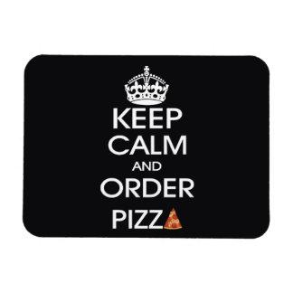 Håll lugnat och beställa Pizza Magnet