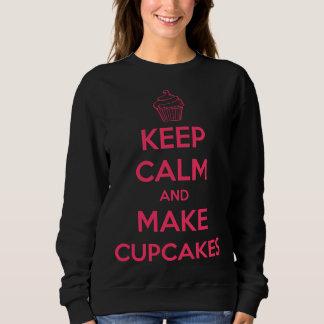 Håll lugnat och gör muffins tröjor