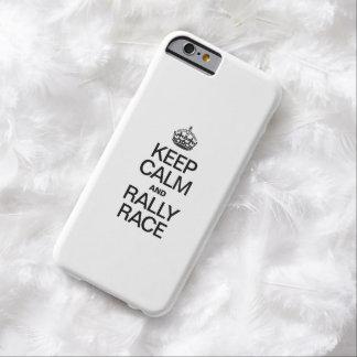 HÅLL LUGNAT OCH SAMLA TÄVLINGEN BARELY THERE iPhone 6 FODRAL