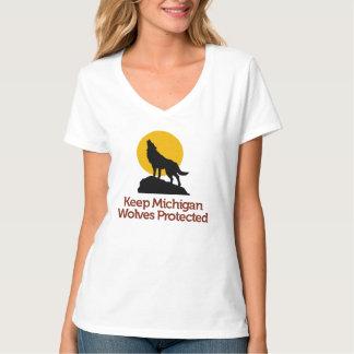 Håll Michigan den varger skyddade T-tröja: Colbie Tshirts