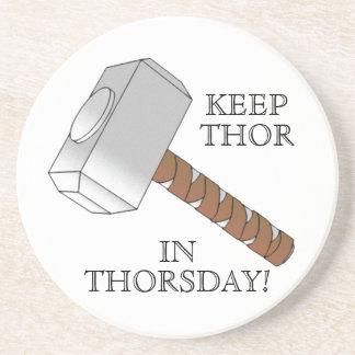 Håll thoren i Thorsday! Kustfartyg Underlägg