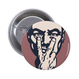 Hålla ögonen på för storebror standard knapp rund 5.7 cm