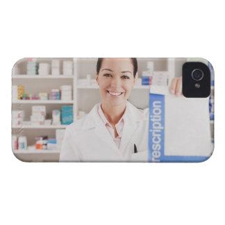 Hållande recept för Pharmacist i droglager iPhone 4 Cases